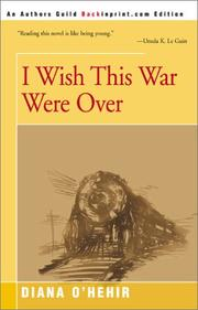 Cover of: I wish this war were over