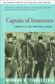 Cover of: Captain of Innocence