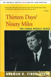 Cover of: Thirteen Days/Ninety Miles
