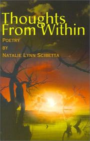 Cover of: Thoughts from Within | Natalie Scibetta