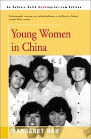 Cover of: Young Women in China