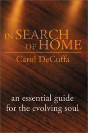 Cover of: In Search of Home | Carol Decuffa