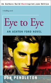 Cover of: Eye to Eye: An Ashton Ford Novel (Ashton Ford)