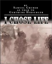 Cover of: I Chose Life