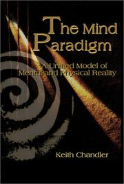 Cover of: The Mind Paradigm | Keith Chandler