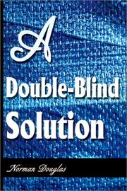 Cover of: A Double-Blind Solution