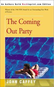 Cover of: The Coming Out Party
