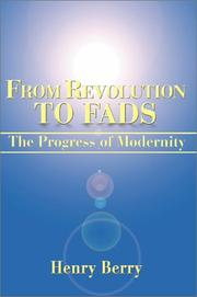 Cover of: From Revolution to Fads