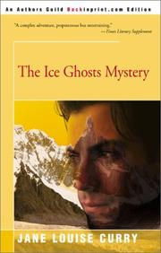 Cover of: The ice ghosts mystery
