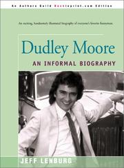 Cover of: Dudley Moore