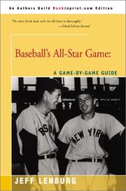 Cover of: Baseball's All-Star Game