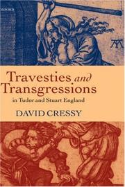 Cover of: Travesties and Transgressions in Tudor and Stuart England