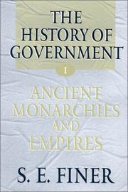 Cover of: The History of Government