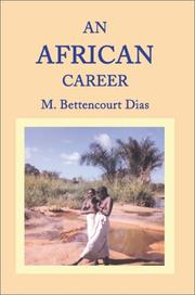 Cover of: An African Career
