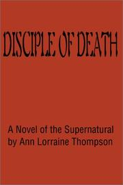 Cover of: Disciple of Death | Ann Thompson