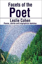 Cover of: Facets of the Poet | Leslie Cohen