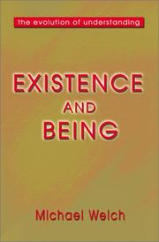 Cover of: Existence and Being | Michael Welch