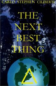 Cover of: The Next Best Thing | Carlo Ciliberti