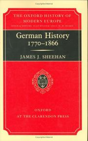 German history, 1770-1866