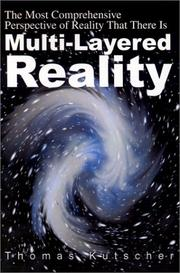 Cover of: Multi-Layered Reality | Tom Kutscher