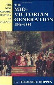 Cover of: The Mid-Victorian Generation, 1846-1886