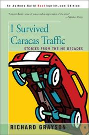 Cover of: I survived Caracas traffic