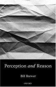 Cover of: Perception and reason