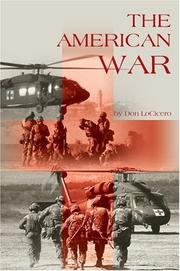 Cover of: The American War | Don Locicero