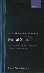 Moral status by Mary Anne Warren