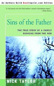 Cover of: Sins of the Father | Nick Taylor