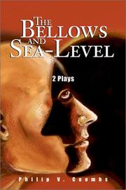 Cover of: The Bellows and Sea-Level | Philip V. Coombs