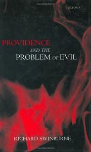 Cover of: Providence and the problem of evil | Richard Swinburne