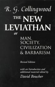 Cover of: The new Leviathan