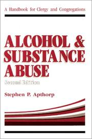 Cover of: Alcohol and substance abuse