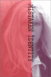 Cover of: Mistaken Identity | Sydney S. Cone