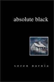 Cover of: Absolute Black | Soren Narnia