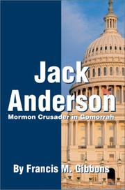 Cover of: Jack Anderson