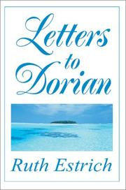 Cover of: Letters to Dorian | Ruth E. Estrich