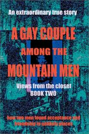 Cover of: A Gay Couple Among the Mountain Men | Meredith J. Ashlan