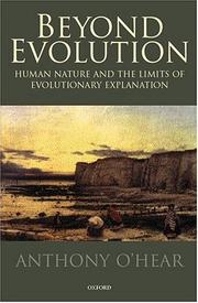 Cover of: Beyond evolution | Anthony O