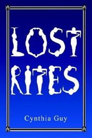 Cover of: Lost Rites | Cynthia Guy