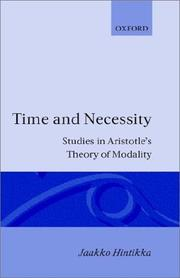 Cover of: Time & necessity