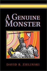 Cover of: A Genuine Monster | David Zielinski