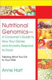 Cover of: Nutritional Genomics - A Consumer