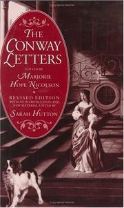 Cover of: The Conway letters | Anne Conway