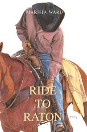 Cover of: Ride to Raton | Marsha Ward