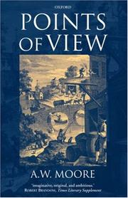 Cover of: Points of View | A. W. Moore