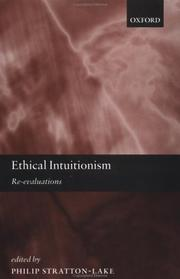 Cover of: Ethical Intuitionism | Philip Stratton-Lake
