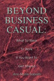 Cover of: Beyond Business Casual