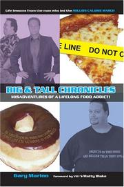 Cover of: Big & Tall Chronicles | Gary Marino
